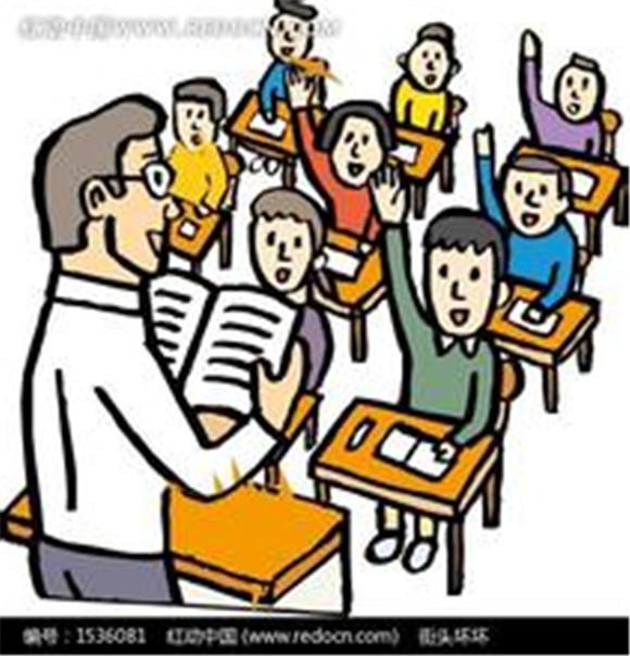 教室老师讲课学生动漫,老师讲课卡通画,老师讲课动作_大山谷图库图片
